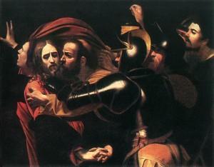Il bacio di Giuda - Caravaggio