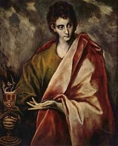 Giovanni Apostolo Dipinto