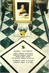 Maria Valtorta Tomba
