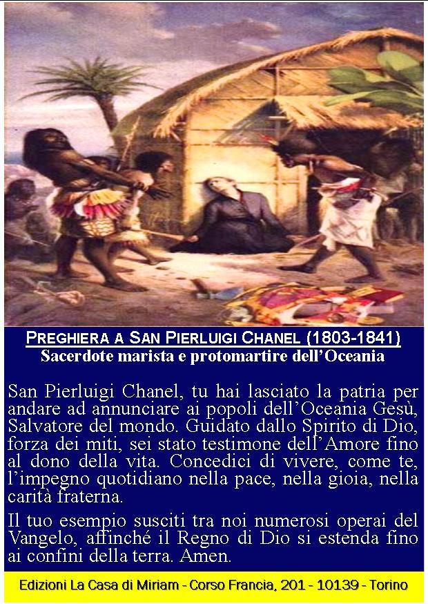 Cartolina San Pierluigi Chanel