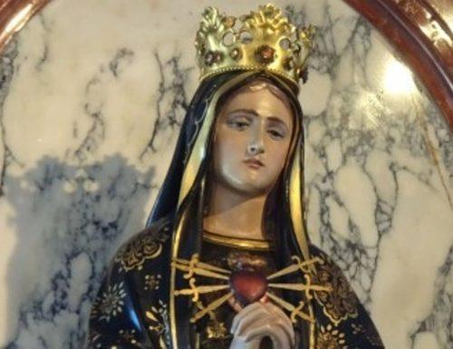 Per la liberazione alla Vergine Addolorata