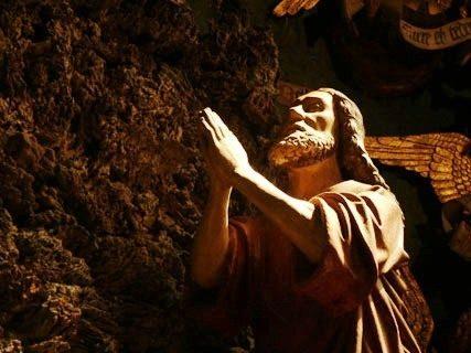 """""""La permanenza nel Getsemani"""" – Meditazione alla Casa di Miriam"""