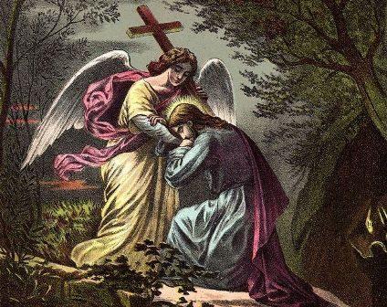 Preghiera meditando l'agonia di Gesù nell'orto degli ulivi